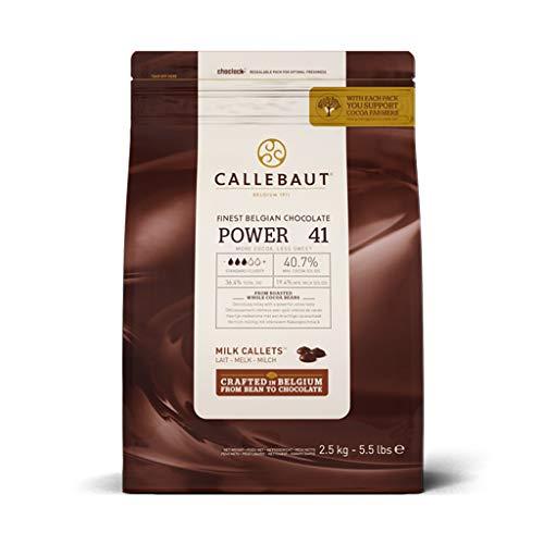 Callebaut Power 41 Cioccolato Chocolate Di Copertura Al Latte Cf. 2,5 da abbinare ad un'ampia varietà di aromi