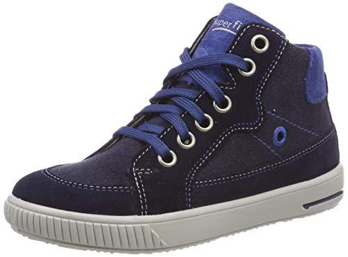 Superfit Baby Jungen Moppy Sneaker, Blau (Blau 80), 26 EU