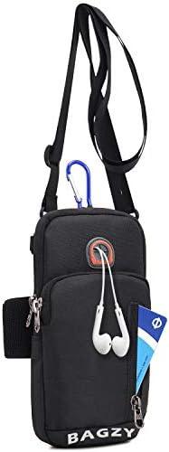 BAGZY Unisex Running Armband Phone Holder Passport Travel Wallet Bag Money Belt Waist Pouch product image