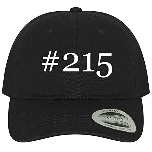 The Town Butler #215 - A Comfortable Adjustable Dad Baseball Hat, Black, One Size