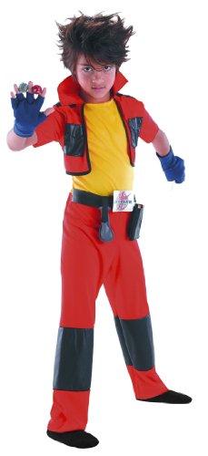 Cesar B655-001 - Costume da Bakugan Dan, (Taglia: 104 cm)