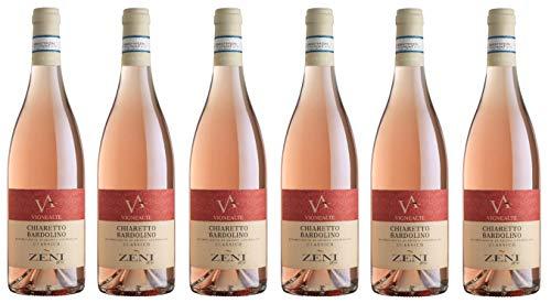 6x0,75l - 2019er - Zeni - Vigne Alte - Bardolino Chiaretto Classico D.O.C. - Veneto - Italien - Rosé-Wein trocken