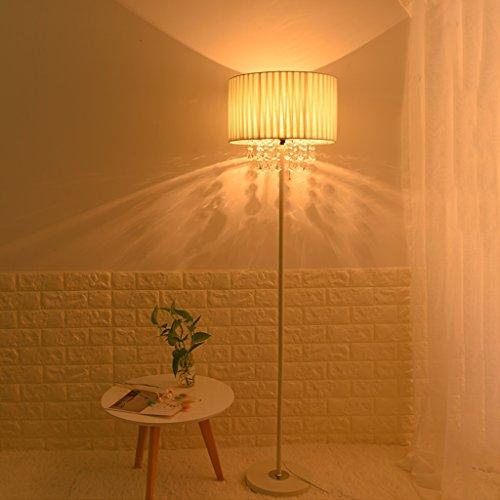 Weiß Kristall-Kronleuchter Stehlampe Dekoration Hochzeit Lampen R/02/11