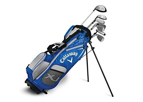 Callaway Golf Xj Junior Golf Set, Level 3, 7 Piece Set, Right Hand, Blue