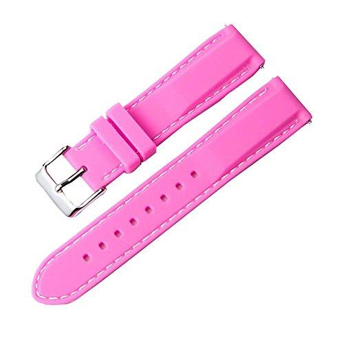 Hornet Park Cinturino dell'orologio della cinghia di orologio della sostituzione 22MM dell'orologio della cinghia del silicone