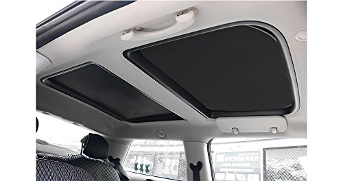 Yu Motor 2pcs Foldable Sunroof Shade Sunshade Heat Isolate fit for Mini Cooper, Clubman & Countryman R56 All Years