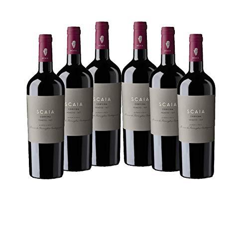 Scaia Rosso - Tenuta Sant Antonio - rot - trocken - 13%vol. - 6er Paket