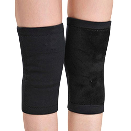 Haodasi 1 Paar Bambus Anti-Arthritis Schutz Knie Support Sport Knieschoner