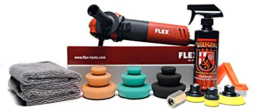 Flex PE8 Kompakt Rotary Polisher Complete Starter Kit