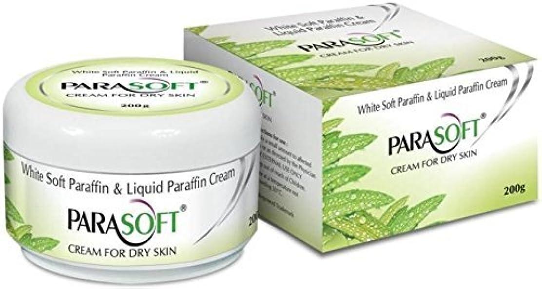 上級咽頭超音速Parasoft dry skin cream paraben free with added goodness of natural aloevera 200g