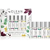 CLEAN CLASSIC Bestselling Eau de Parfum Gift Set Collection Includes Warm Cotton, Skin, Rain, The Original and Fresh Linens Scents 5 x 0.16 oz or 5 mL