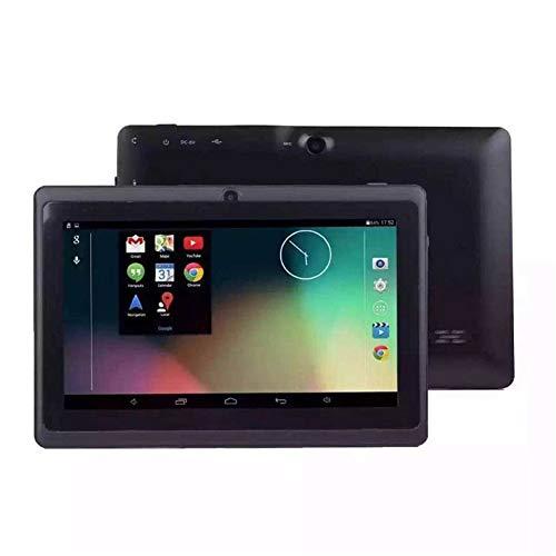 7 Pollici Android Tablet PC Quad-Core WiFi Bluetooth Laptop Google Play Store 1024 * 600 8GB Rom Studente di apprendimento dei Bambini di Natale Regali Tablet,Black