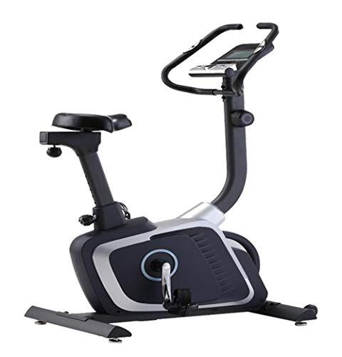 Lcyy-Bike Allenatori di Bicicletta Resistenza Magnetica 8 kg Volano Cardio Workout con Display Multifunzionale E Porta Tablet Manubrio Regolabile E Altezza Sedile