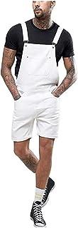Men's Jeans Dungarees Short Pants Pockets Casual Many Men Modern Denim Jumpsuit Regular Fit Jumpsuit Fashion Clothing Swea...