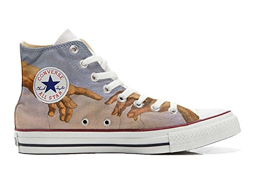 MYS Sneaker Original Hi Customized personalisiert Schuhe (gedruckte Schuhe) giudizio universale TG39