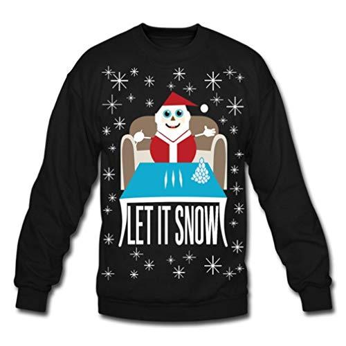 Let It Snow Funny Ugly Christmas, Walmart Meme Ugly, Cocaine Santa T-Shirt, Sweater, Hoodie, Long Sleeve, Short Sleeve, Ladie Short Sleeve T-Shirt