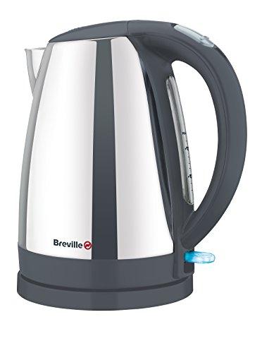 Breville VKJ811X Hervidor, 2200 W, 1.5 litros, Negro, Acero inoxidable