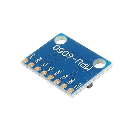 Elektronisches Modul IIC I2C GY-521 MPU6050 MPU6050 3-Achsen-Gyroskop Analogsensoren + 3-Achsen-Beschleunigungssensor-Modul Geekcreit for A-r-d-u-i-n-o - Produkte, dass die Arbeit mit dem offiziellen