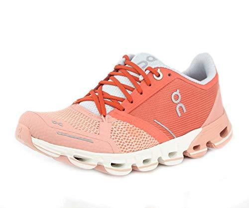 On Running Womens Cloudflyer Ginger/White Running Shoe - 10
