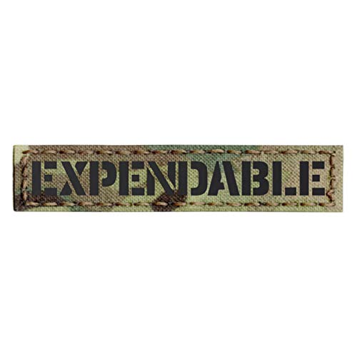 Multicam IR Expendable 1x5 Infrared Name Tag Callsign IFF Morale Tactical Fastener Patch
