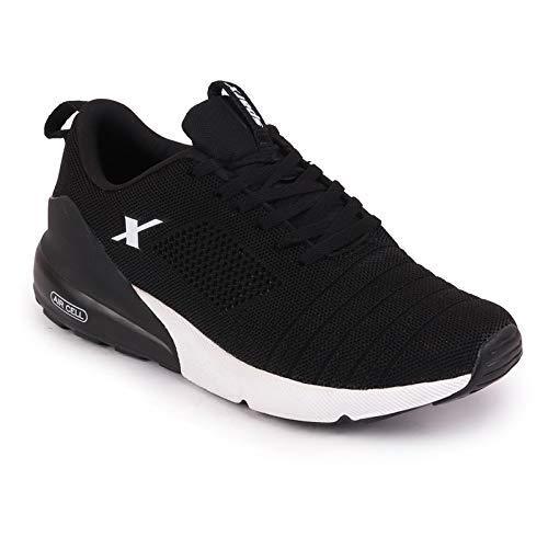 Sparx Men's SM-487 Black White Running Shoe-9 Kids UK (SX0487GBKWH0009)