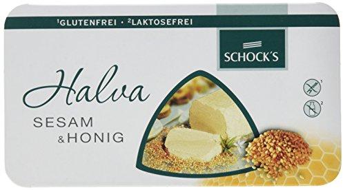 Schocks Halva, Sesam & Honig, 6er Pack (6 x 100 g)