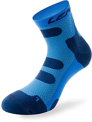 Lenz Compression 4.0 Low Socken Dunkelblau/Hellblau 42-44