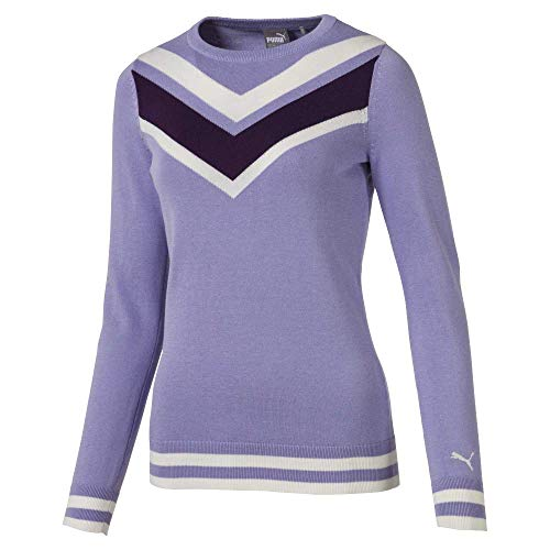 Puma Golf 2019 Chevron Sweater, Sweet Lavender, x Large