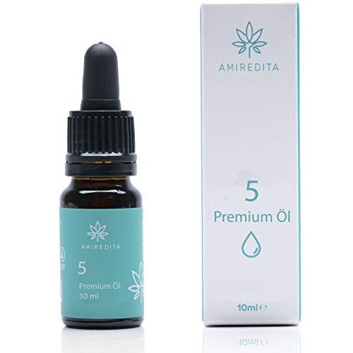 Amiredita Premium Natur Öl Tropfen 5%...