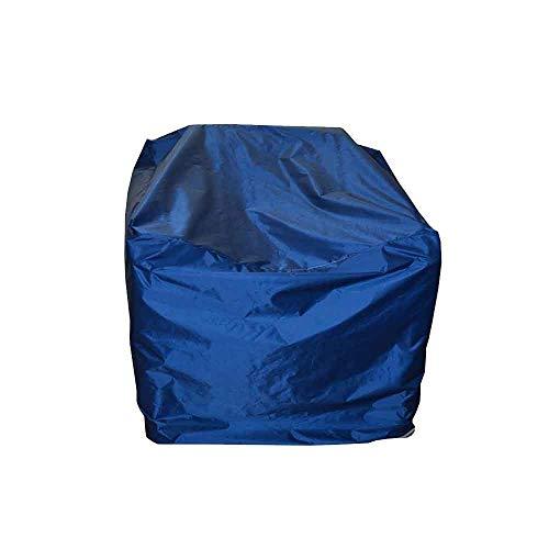ASDFGHT Housse Salon De Jardin Extérieur Balcon Étanche À La Poussière Imperméable Bâche Protection Convient Espace Rangement, Fait sur Mesure (Color : Blue, Size : 308×138×98cm)