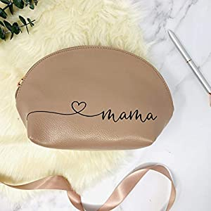 Kosmetikbeutel für Mama – personalisiert – Roségold