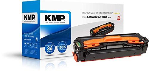 KMP Toner für Samsung CLP-415N - Druckkartusche Schwarz - Kompatibel - Tonerkartusche für CLT-K504S/ELS - Office Druckerkartusche (Schwarz)