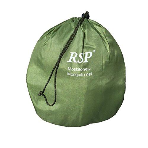 RSP Moskitonetz - 65 x 300 x 1350 cm - grün/Amazonas - auch für Doppelbetten