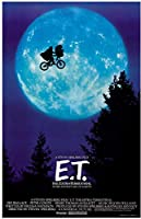 E.T.☆☆海外 レア☆シルク調☆ファブリック ポスター☆1 スティーヴン・スピルバーグ 映画 ET