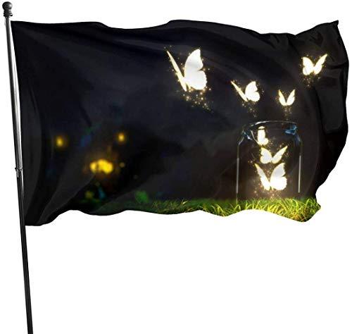 N/A American Guard Vlag Banner Tuinvlaggen Vlinder Vlieg Dikker Outdoor Yard voor Vakantie Patio Wanddecoratie 3x5 Voet
