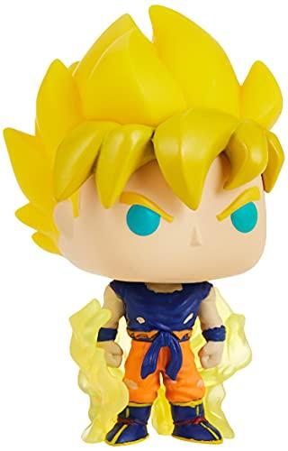 Funko POP Animation: Dragon Ball Z S8 - Super Saiyan Goku (First Appearance) Dragonball SS Figura da Collezione, Multicolore, 48600