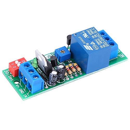 Módulo De Interruptor De Relé Temporizador RD21N Equipo Eléctrico Suministros Eléctricos para Ventilador DC 5V / 12V / 24V 10A24V