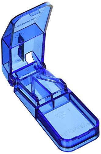 GIMA ref. 25730 Cortador de píldoras para una dosificación perfecta, con cuchilla de acero inoxidable y caja de cartón, para reducir el tamaño de pastillas de ancianos, niños y mascotas
