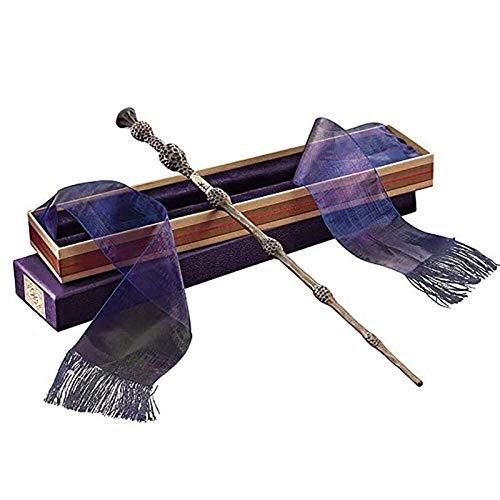 YANYUN Cosplay Props Wizard's Wand's Wand, Dumbledore Bacchetta Metallo Core Magic Wand Bacchetta The Elder Wand, 35 cm