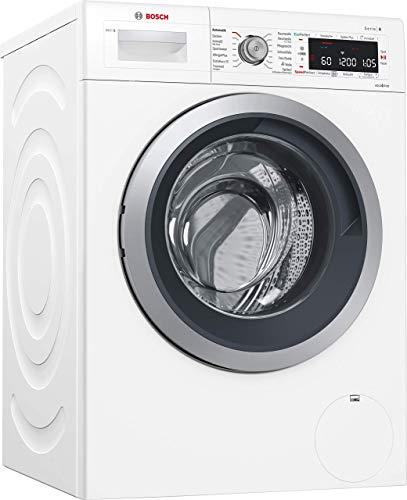 Bosch WAWH8640 Serie 8 Waschmaschine Frontlader / A+++ / 137 kWh/Jahr / 1400 UpM / 8 kg / Weiß / i-DOS™ / VarioTrommel / Home Connect
