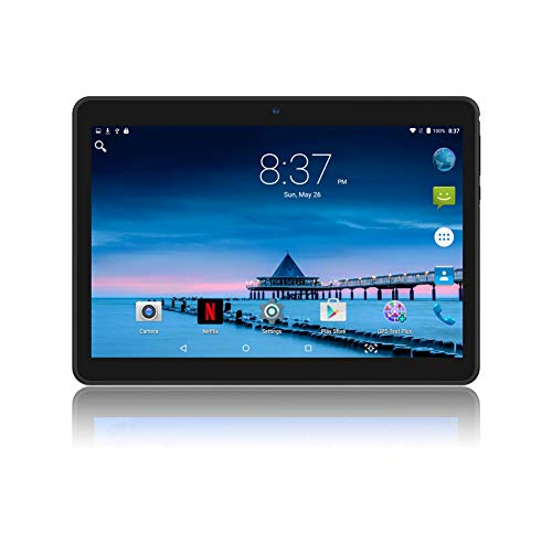YELLYOUTH Android Tablet 10 inch with Sim Card Slots 4GB RAM 64GB ROM...