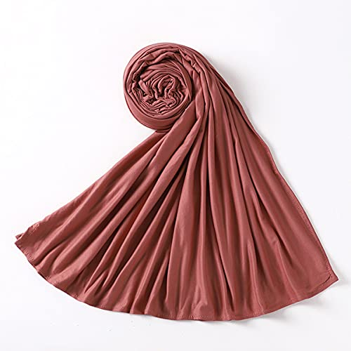 Bufanda Mujer Pañuelo Fulares Bandanas Ligero para Damas Cabello Cabeza Cuello Decoración,7,E