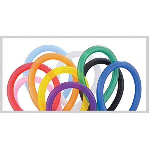 Folat - Palloncini modellabili 260q, Multicolore - 100 pezzi