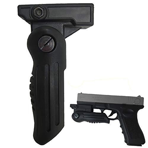 RimFly Empuñadura para Armas Profesional de Airsoft o Caza Grip Vertical Universal Accesorio de Agarre Delantero con Rail Picatinny 20mm Ergonómica Fma M4 M16 Ajustable RVG