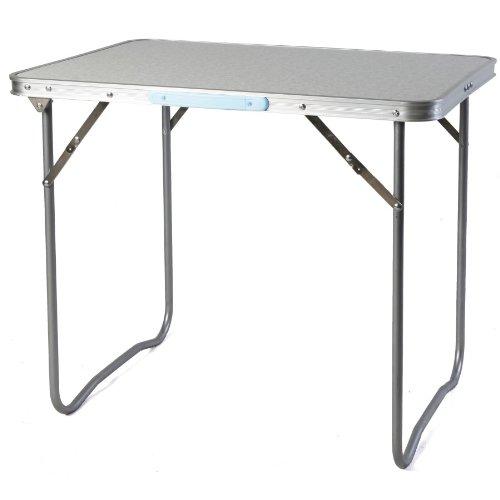 Linder Campingtisch mit Tragegriff MDF Tischplatte 70x50x59cm Falttisch Picknicktisch