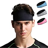 X-Bands Headband for Men and Women - Cycling, Running, Yoga, Tennis, Badminton, Gym