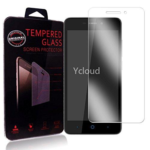 Ycloud Panzerglas Folie Schutzfolie Bildschirmschutzfolie für ZTE Blade A452 screen protector mit Festigkeitgrad 9H, 0,26mm Ultra-Dünn, Abger&ete Kanten