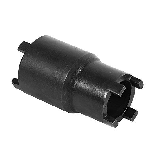 Keenso Motorrad Kupplung Demontagewerkzeug, 20mm/24mm 2-in-1-Kontermutter Kupplungs Schlüssel 4 zapfen Nutmutternschlüssel