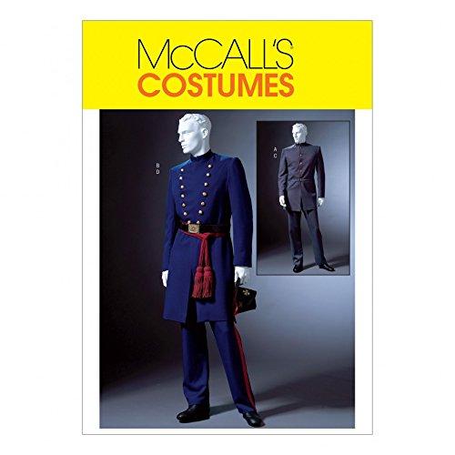 McCall 's Schnittmuster 4745Herren Historisches Kostüm Größen: S-M-L