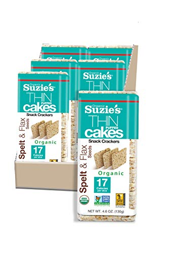 Thin Cakes Organic Spelt with Flax Pack 6